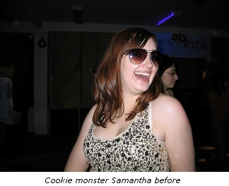 Samantha before